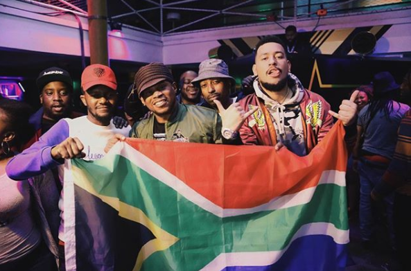 Watch AKA x Kwesta & Kid X Perform On Sway In The Morning's 2018 SXSW Stage b
