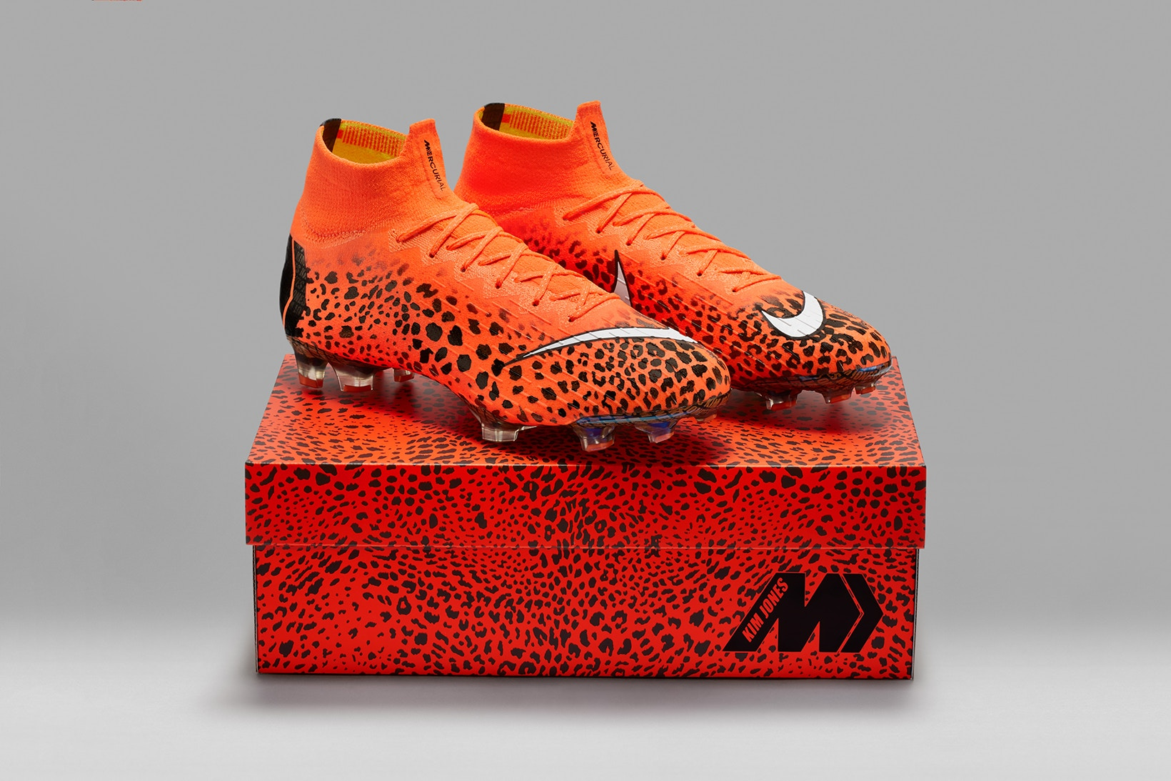 Kim Jones Reworks Nike Mercurial Football Boots kim jones nike football boot mercurial superfly 004