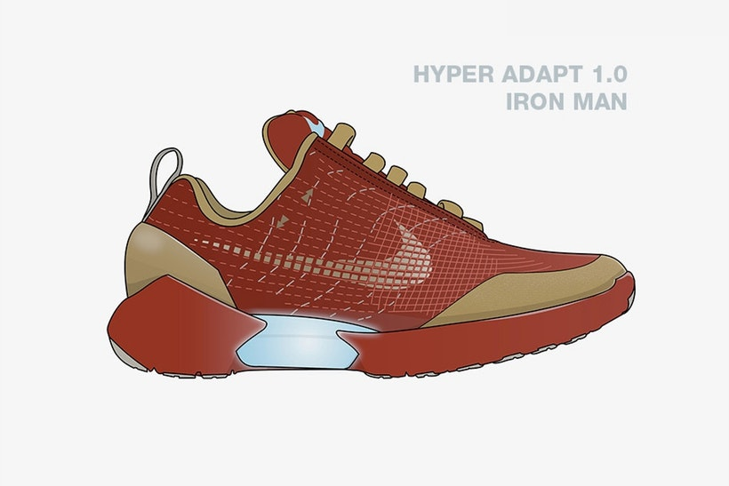 Checkout These Illustrated Avengers x Nike Collabs [SneakPeak] nike marvel superhero sneaker concepts 2