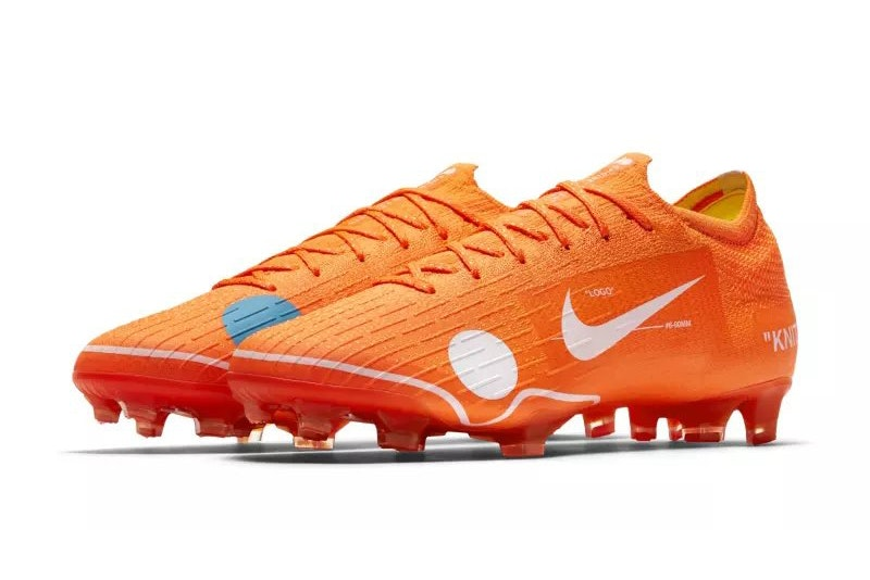 Here Is The Virgil Abloh x Nike Mercurial 12 Elite Boot [SneakPeak] virgil abloh nike mercurial 12 elite boot official images 1