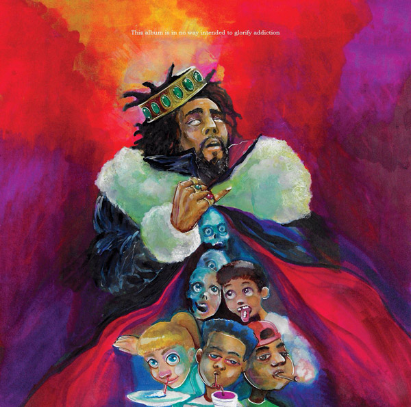 J. Cole's 'KOD'- A Perfect Balance Of Vulnerability And Realness! j cole kod cover