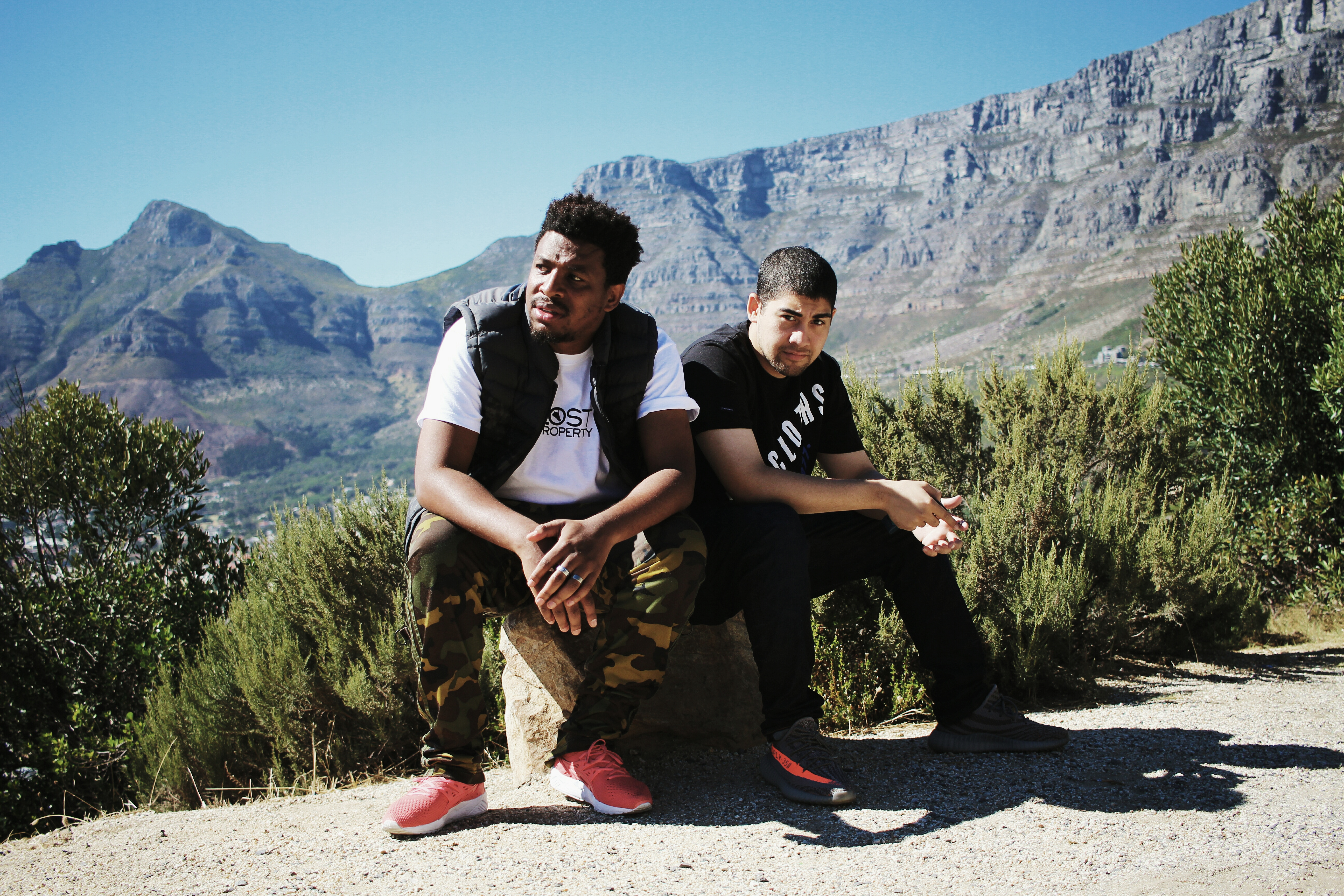HYPE Magazine Interviews Zaid Osman For #SXCJHB Sneaker Exchange Directors Tebogo Mogola and Zaid Osman Photographed by Warren Papier of THEY KNOW 76