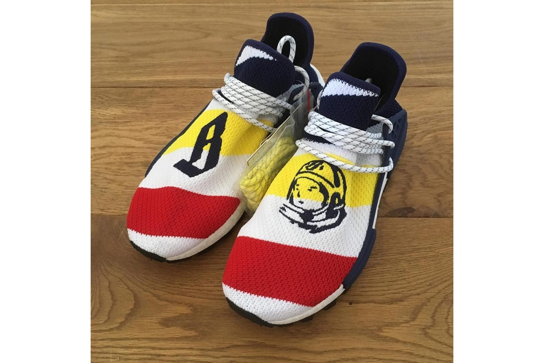 Billionaire Boys Club x adidas Originals New NMD Hu Teased adidas pharrell bbc nmd hu revealed 01