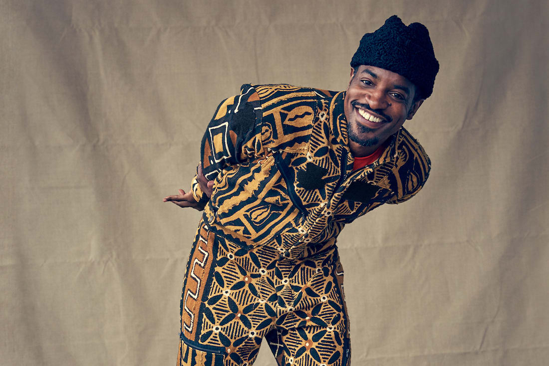 Listen To Andre 3000's Two New 'Look Ma No Hands' & 'Me & My (To Bury Your Parents)' Songs andre 3000
