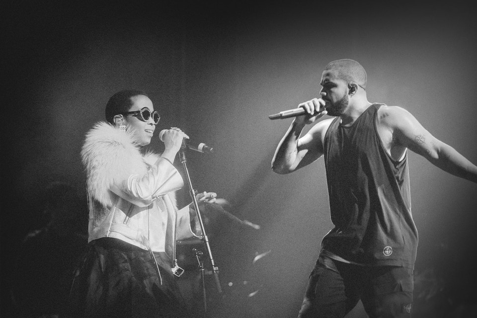 Watch Lauryn Hill Drop A Special Drake Remix drake showin off lauryn hill single teaser 000
