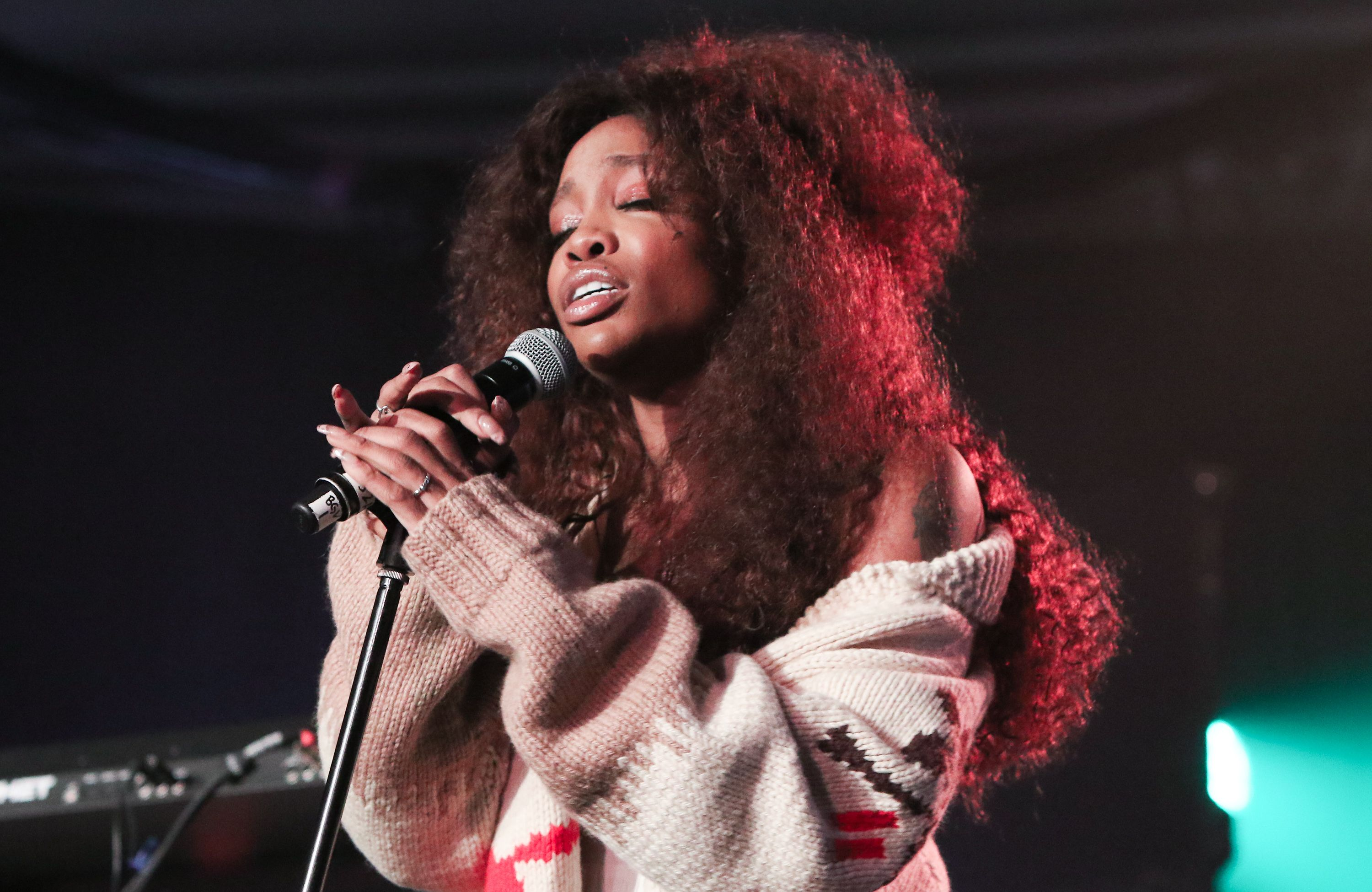 tde sza SZA's Voice Is Sadly Permanently Injured f01d150e50
