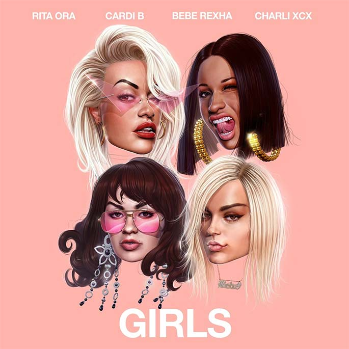 f3739f0616e6 Rita Ora x Cardi B x Bebe Rexha x Charli XCX Drop New  Girls Joint ...