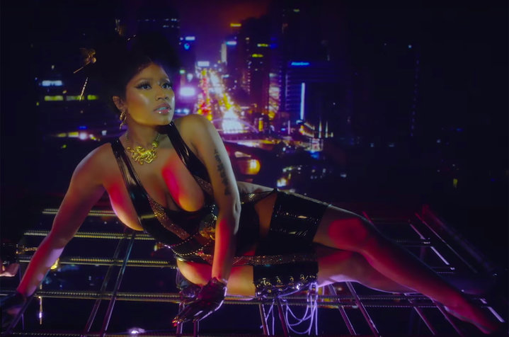 Watch Nicki Minaj's New 'Chun-Li' Video nicki minaj chun li vid billboard 1548