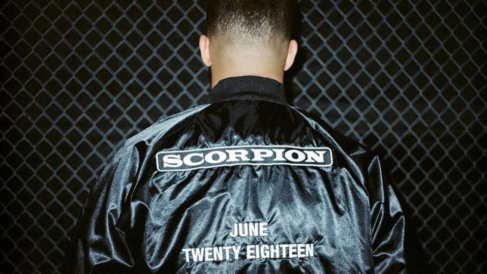 """drake Drake Currently In """"Home Stretch"""" For New 'Scorpion' Album scorpion DRAKE 990x557"""