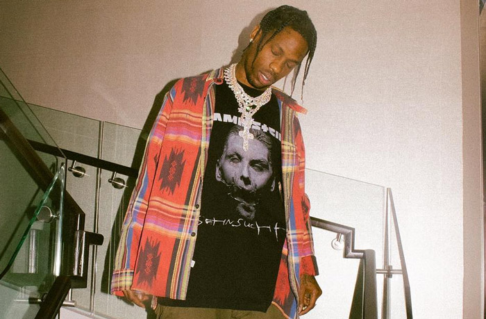 Travis Scott Drops New Vertical Video For 'Watch' [Watch] travis scott stairs