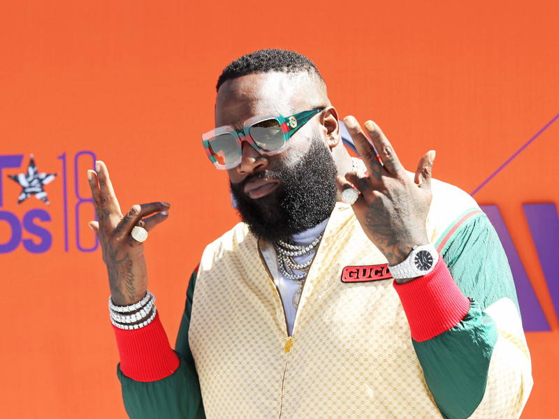 rick ross Watch Rick Ross' New 'Green Gucci Suit' Video With Future 180624 rick ross getty 800x600
