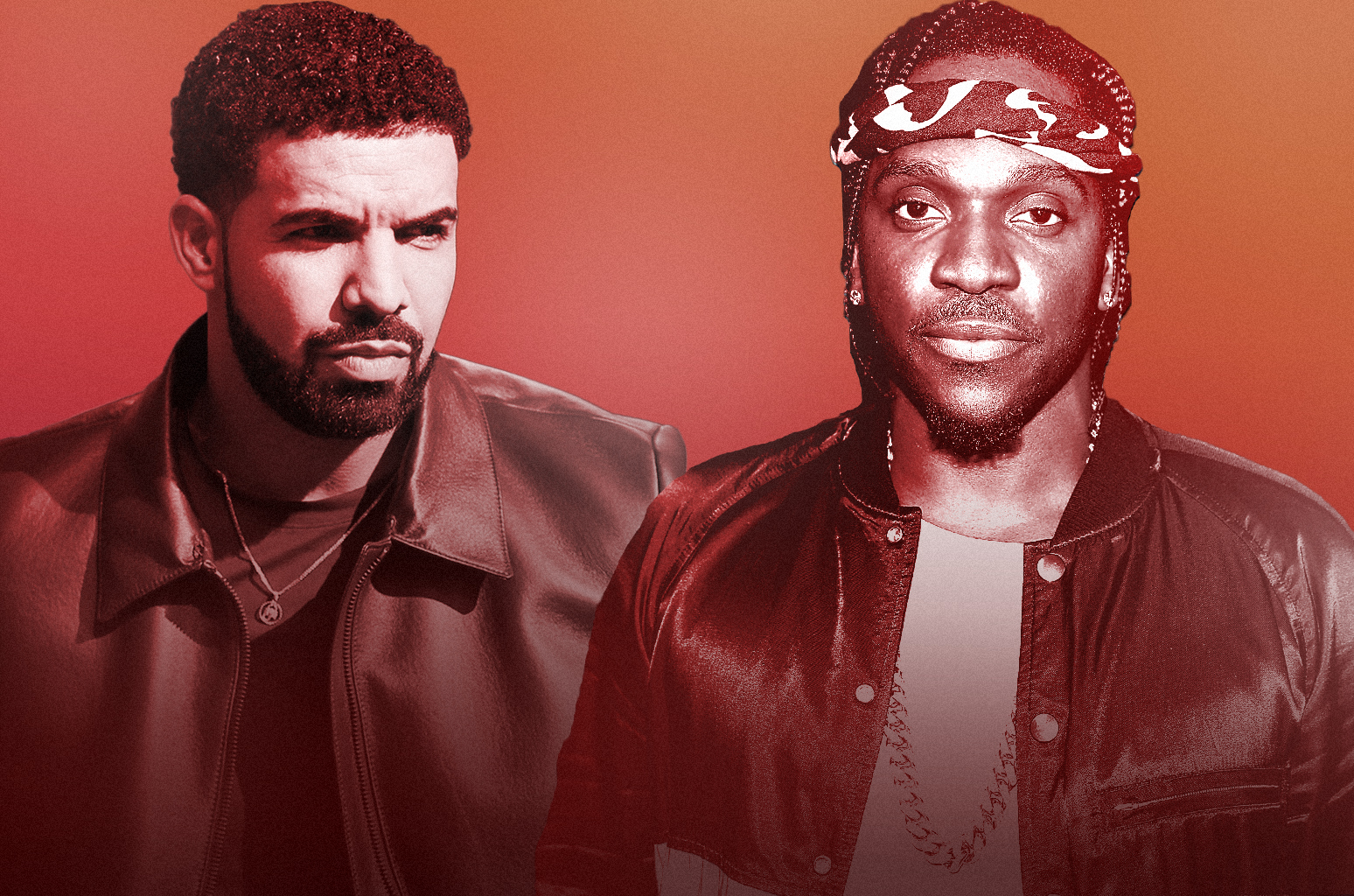 "drake Drake's ""Definitely Happy"" That He Didn't Continue Pusha T Beef According To J. Prince [Watch] drake pusha t 2018 billboard 1548"