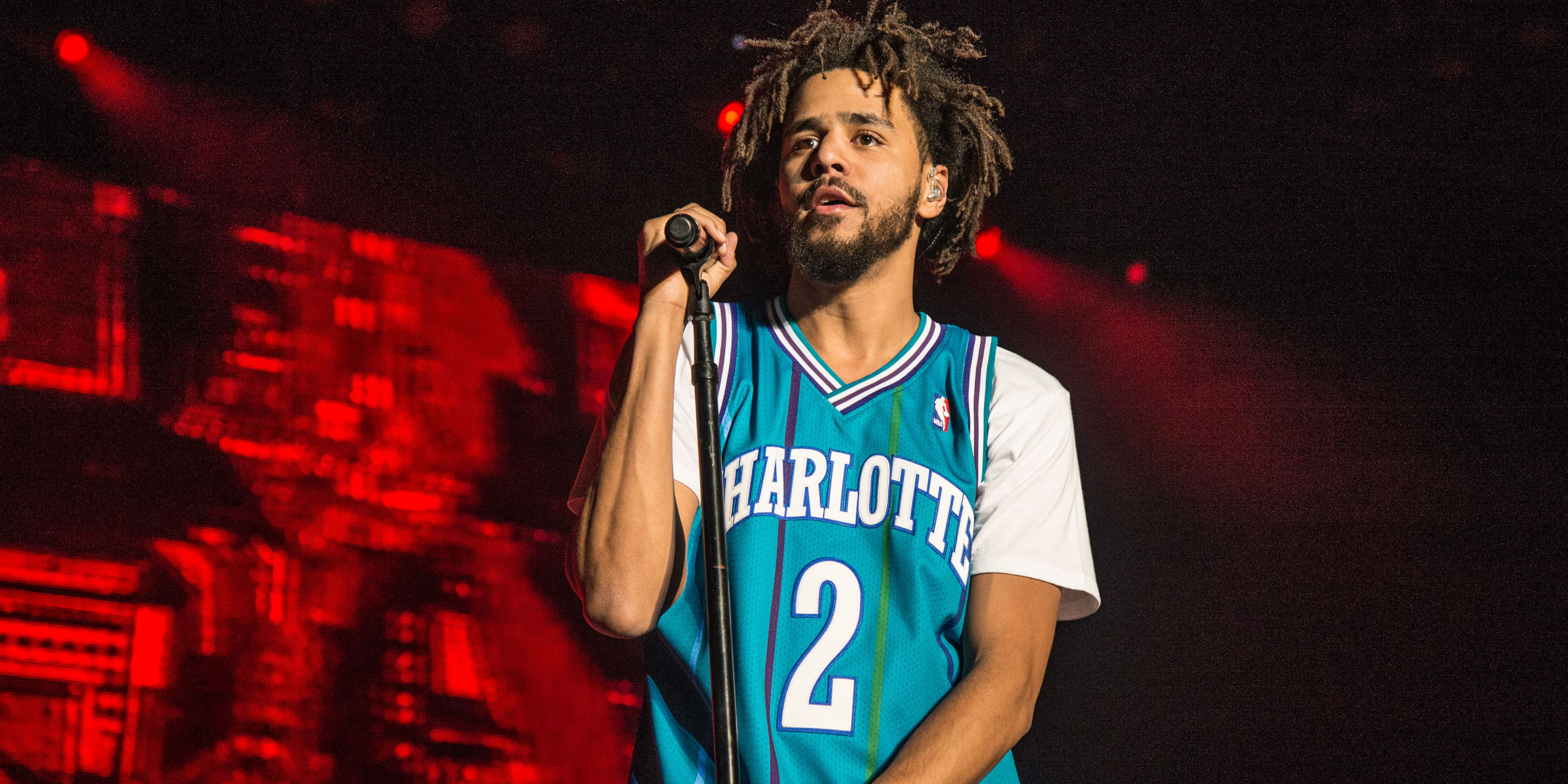 "j. cole J. Cole Confronts The Concept That ""Boys Don't Cry"" jj"