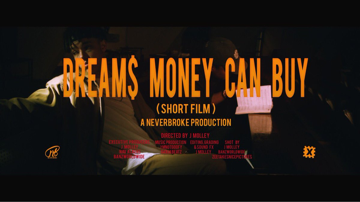 j molley Watch J Molley's New 'Dreams Money Can Buy' Short Film DjNopOFWsAA6zia 1
