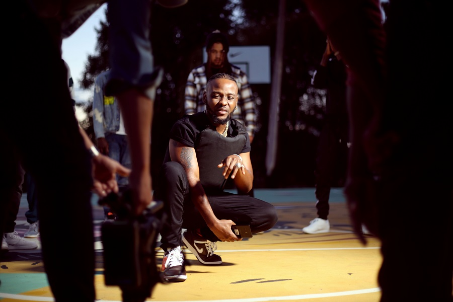 laylizzy Watch Laylizzy's New 'Too Much' Music Video Ft. Kwesta Laylizzy Kwesta TOO MUCH Video Shoot 5