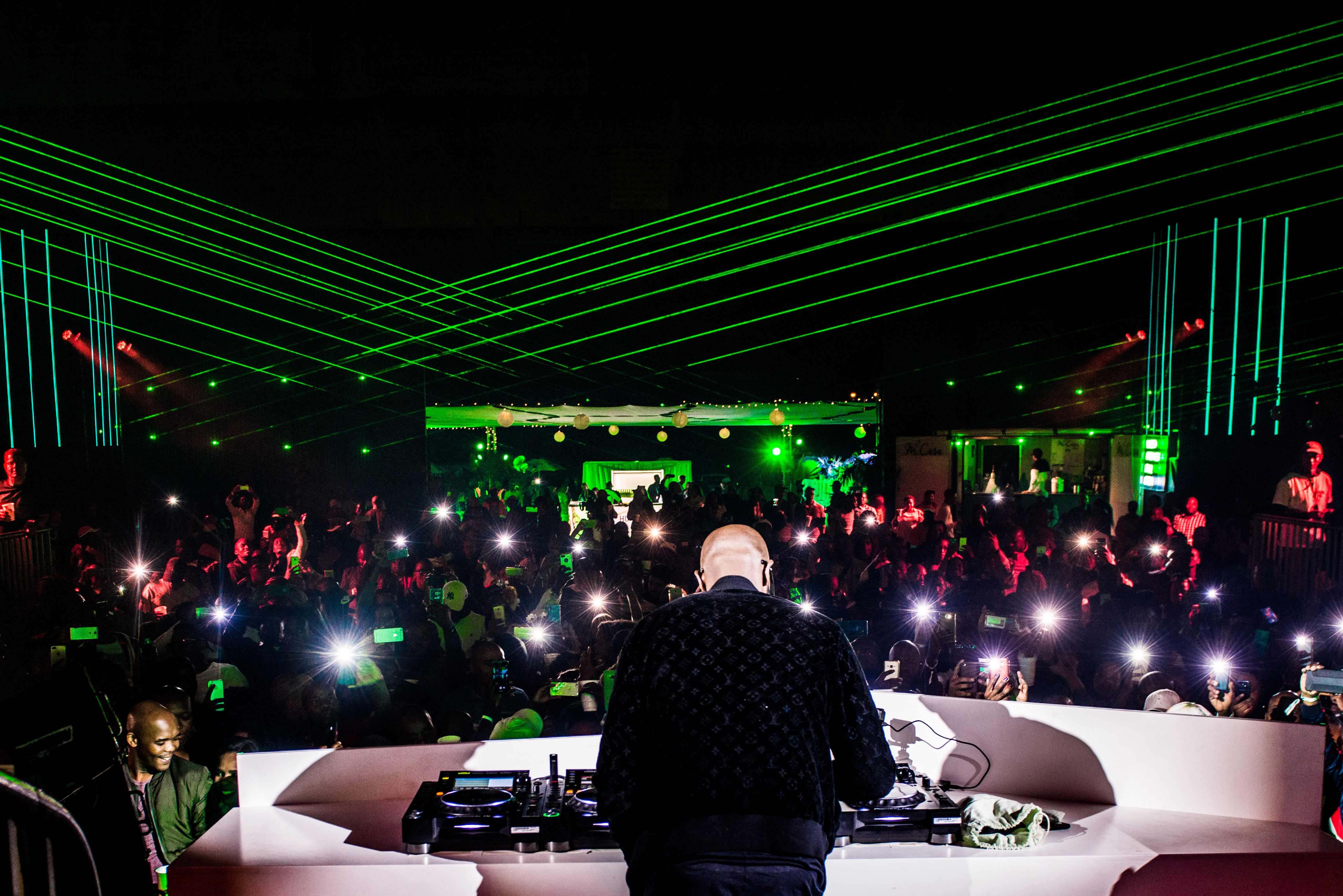 black coffee Hunter's Hosted An Unforgettable Party With Black Coffee! Black Coffee 5