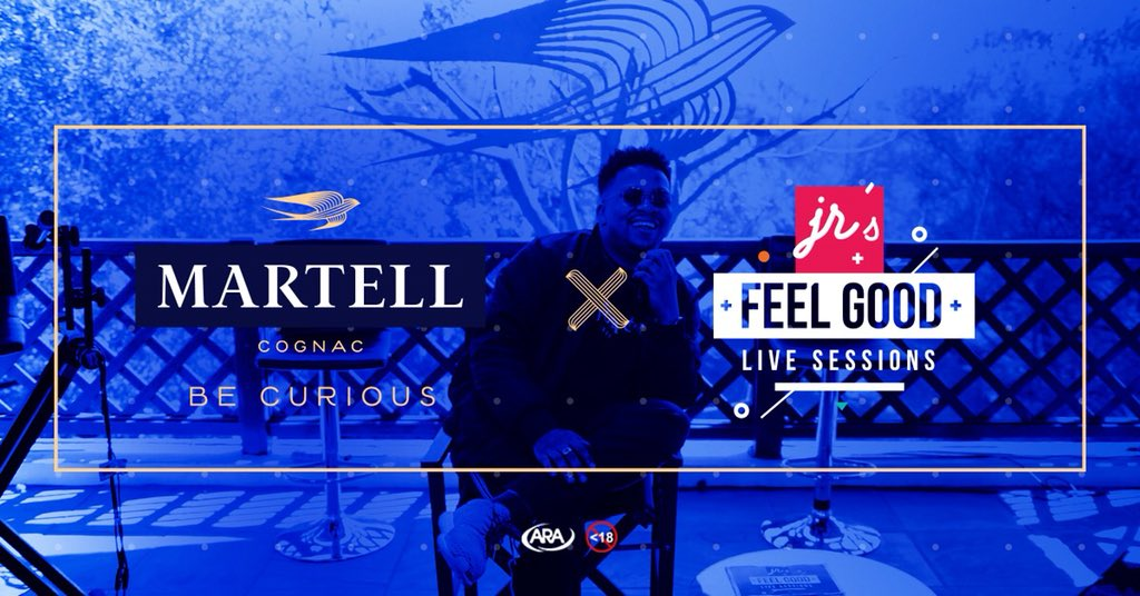 JR's 'Feel Good Live Sessions' Partners With Martell Cognac & Announces New Collaboration Album On The Way Dj IBNmXgAA1bTu