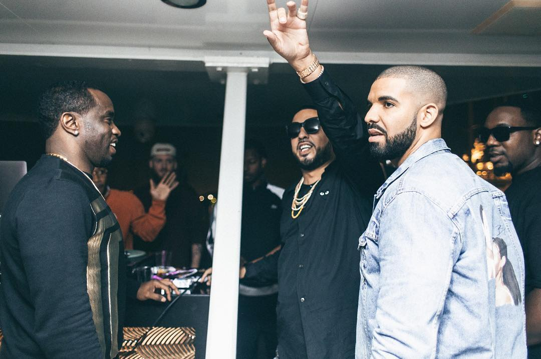 drake Drake Attacks Kanye West (Again) On Upcoming 'No Stylist' Song [Listen] French Montana Dsquared2 jacket Drake Levis 2