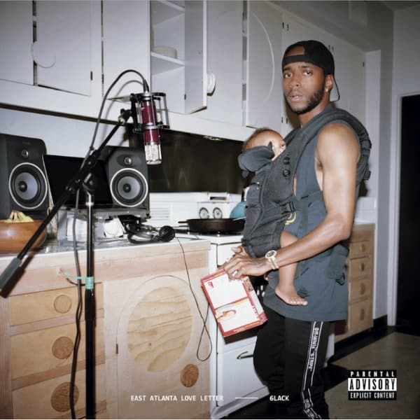 Listen To 6LACK's New 'East Atlanta Love Letter' Project 6lack east atlanta love letter cover