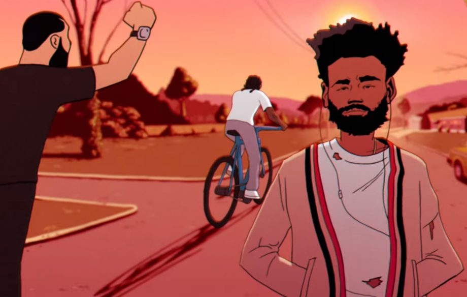 childish gambino Watch Childish Gambino's New Animated 'Feels Like Summer' Music Video Childish Gambino Summer 920x584