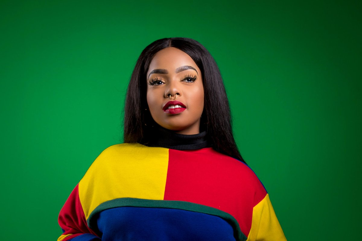 shekhinah Peep Shekhinah's Latest 'Suited Remix' Video Ft. Mr. Eazi DmavTySXoAUjh4T