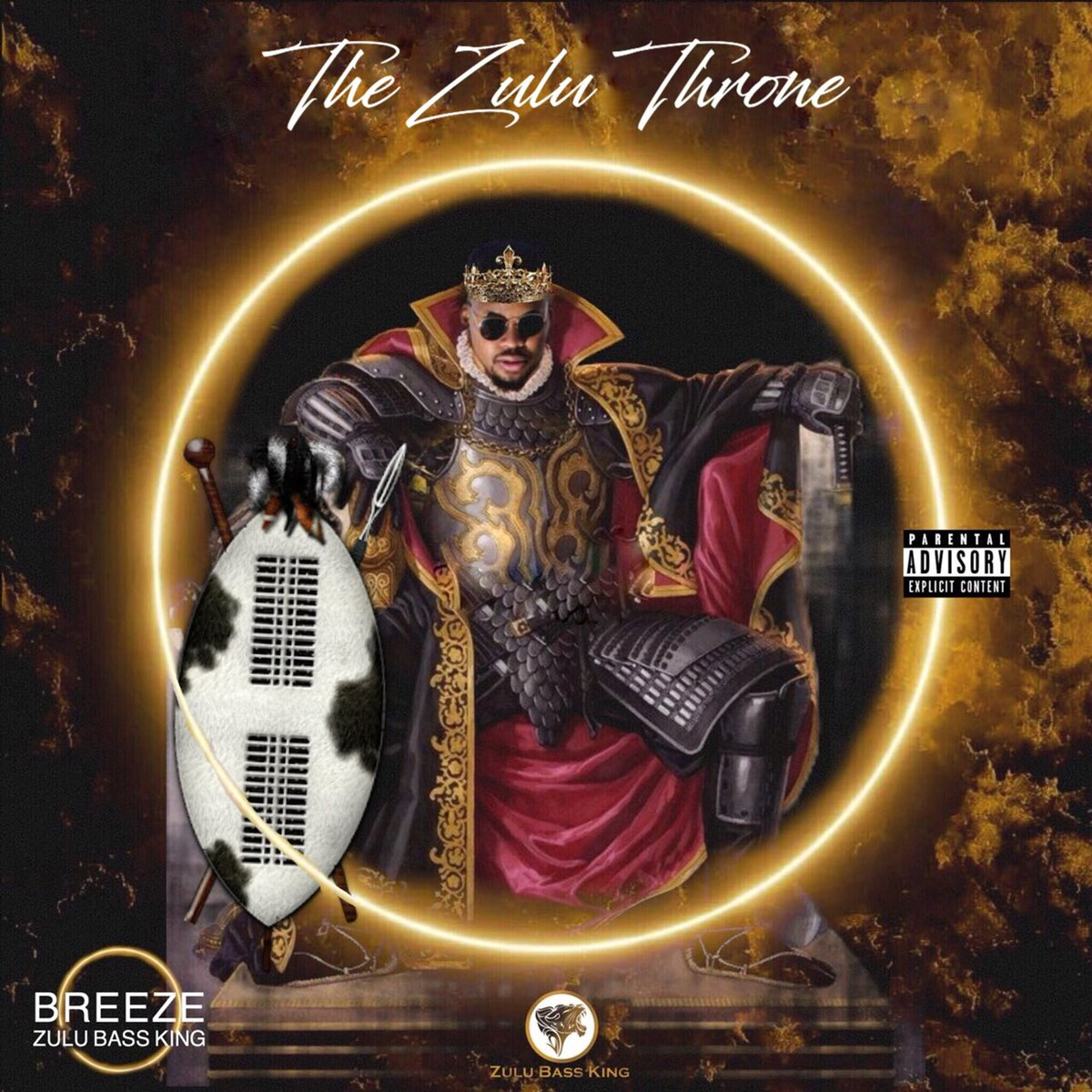 Breeze Reveals #TheZuluThroneAlbum Cover & Tracklist DniQKLaX0AAcncS
