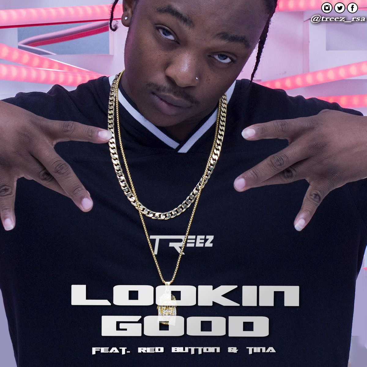 Listen To TreeZ's 'Looking Good' Single Ft. Red Button & Tina IMG 20180727 WA0000