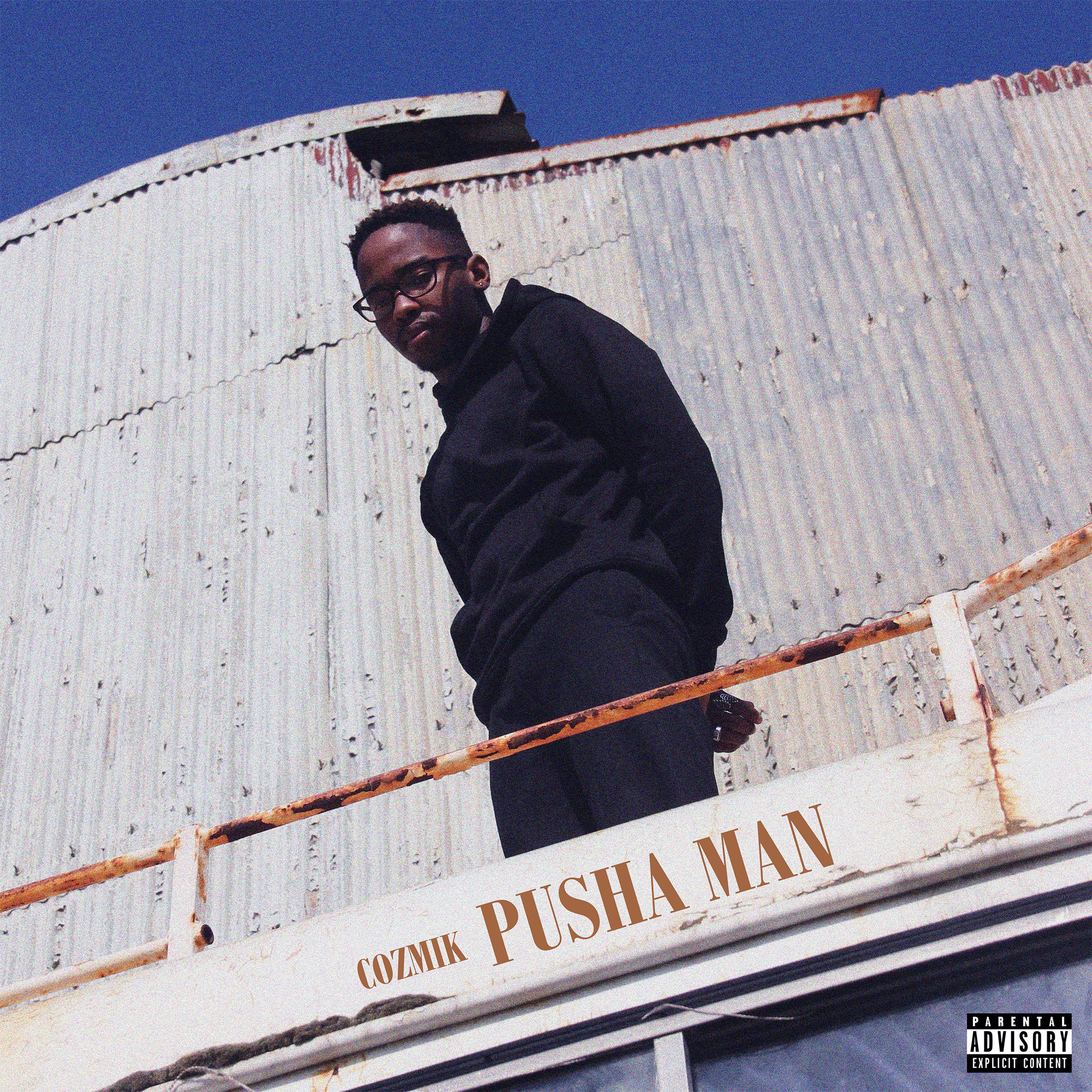 cozmik Listen To Cozmik's 'Pusha Man' Debut Project Pusha Man Front Cover
