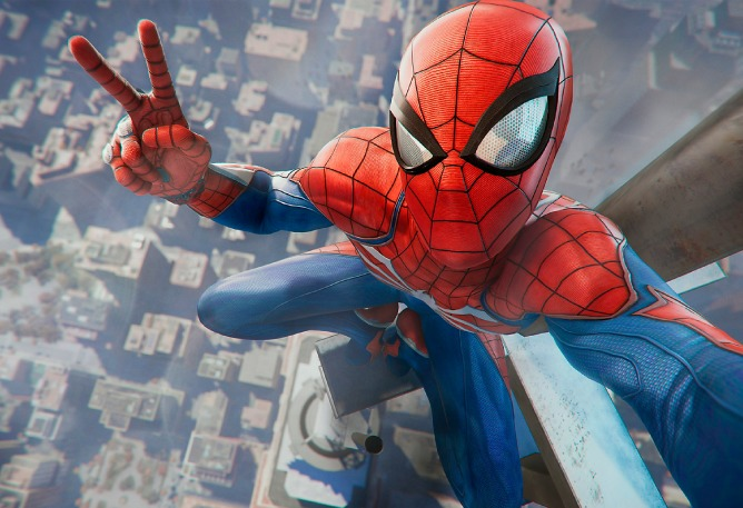 The 'Spider-Man' PS4 Game Is Said To Be The Start Of An Interconnected 'Marvel' Gaming Universe SPIDER MAN PS4