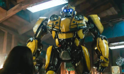 Peep The New 'Bumblebee' Movie Trailer thumb bumblebee teaser trailer 400x240