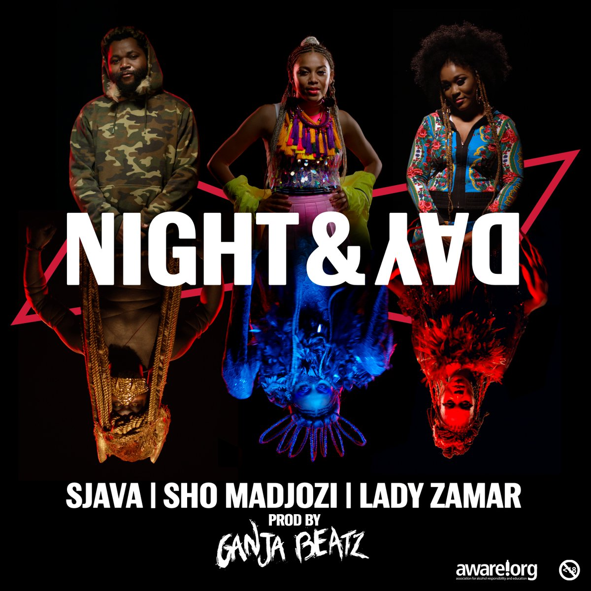 Listen To Sjava, Sho Madjozi & Lady Zamar's New 'Night & Day' Single DqMnZ8kWsAAIEL