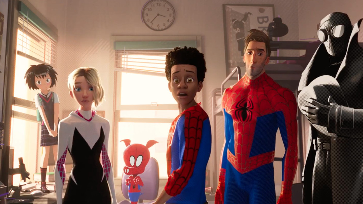Watch The Lates 'Spider-Man: Into The Spider-Verse' Movie Trailer Screen Shot 2018 10 02 at 9