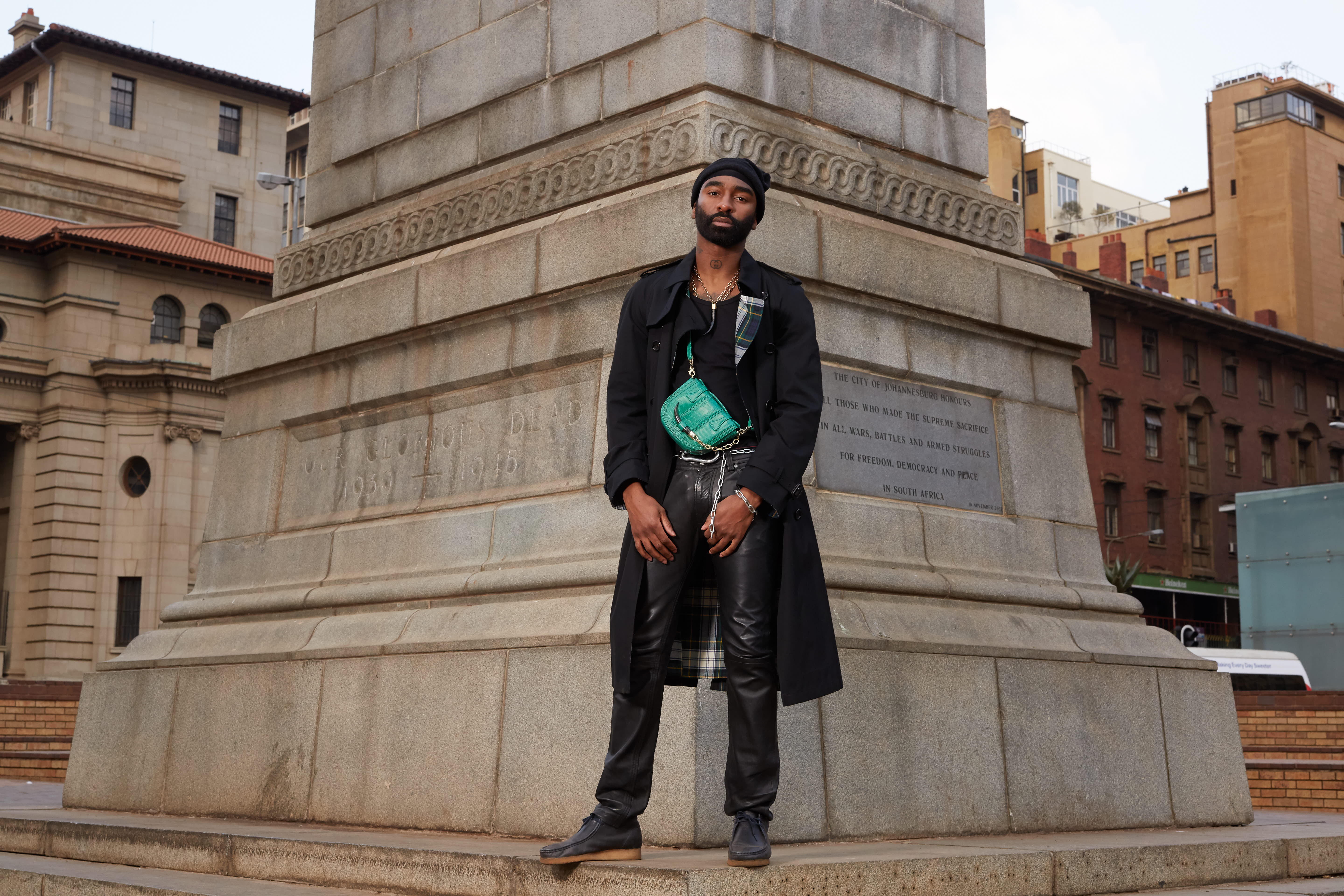 Riky Rick x MAXHOSA By Laduma x OKAPI Launch Capsule Unisex Collection V2A4937