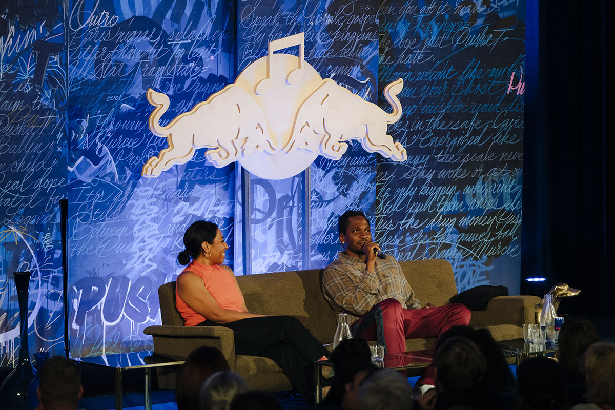 Watch Pusha T's Red Bull Music Academy Lecture (Berlin 2018) pusha t rbma lecture 02