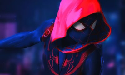 Watch The Lates 'Spider-Man: Into The Spider-Verse' Movie Trailer spider man into the spider verse 3840x2160 4k 15053 400x240