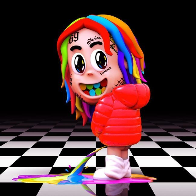 tekashi 6ix9ine Tekashi 6ix9ine Dropped New 'DUMMY BOY' Album Immediately After Signing New Distribution Deal [Listen] 6ix9ine Dummy Boy Tracklist Album Cover 650x650