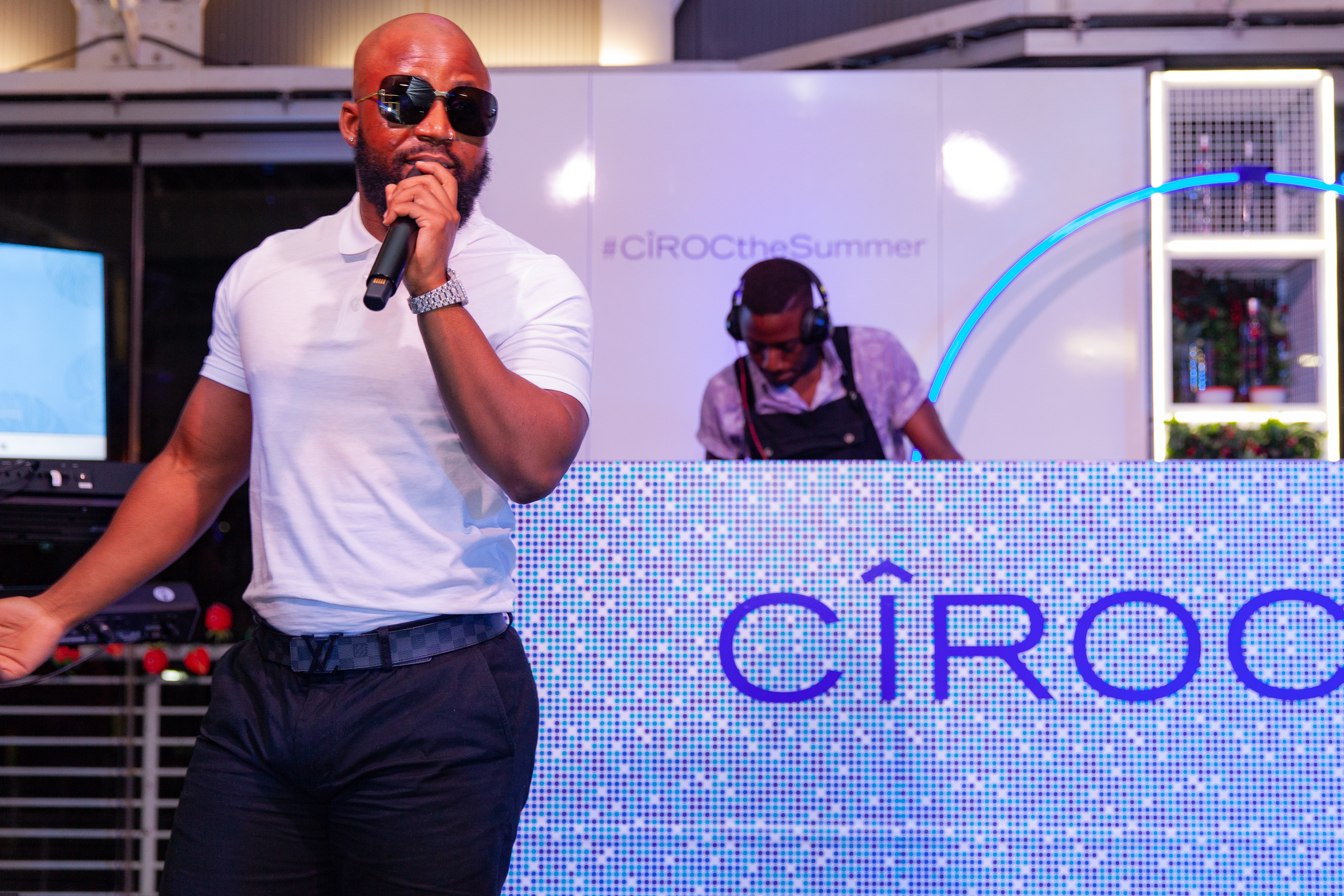 CÎROC Introduces New Red Berry Flavour In Style Cassper Nyovest Performance Copy