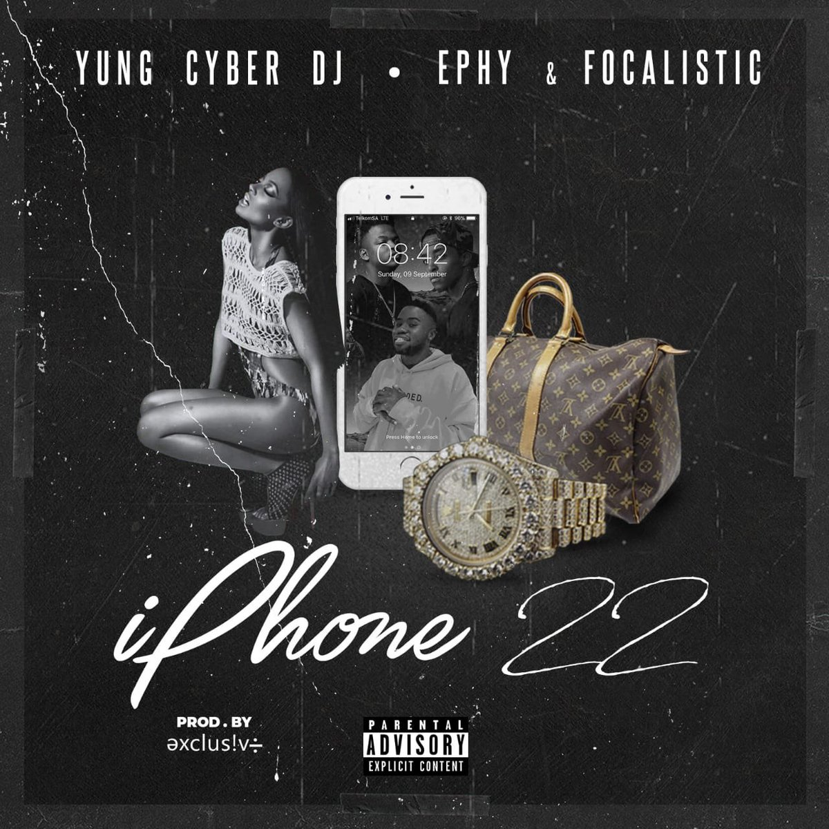 ephy Listen To Ephy's Latest #Iphone22 Joint Ft. Focalistic & Yung Cyber DqLnmn5WwAA1z6I