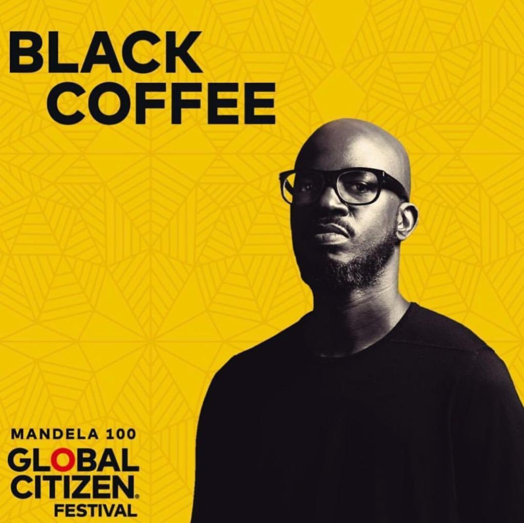 black coffee Black Coffee Gets Added To #GlobalCitizenFestivalSA Line-Up Ds6I47TWkAATny8