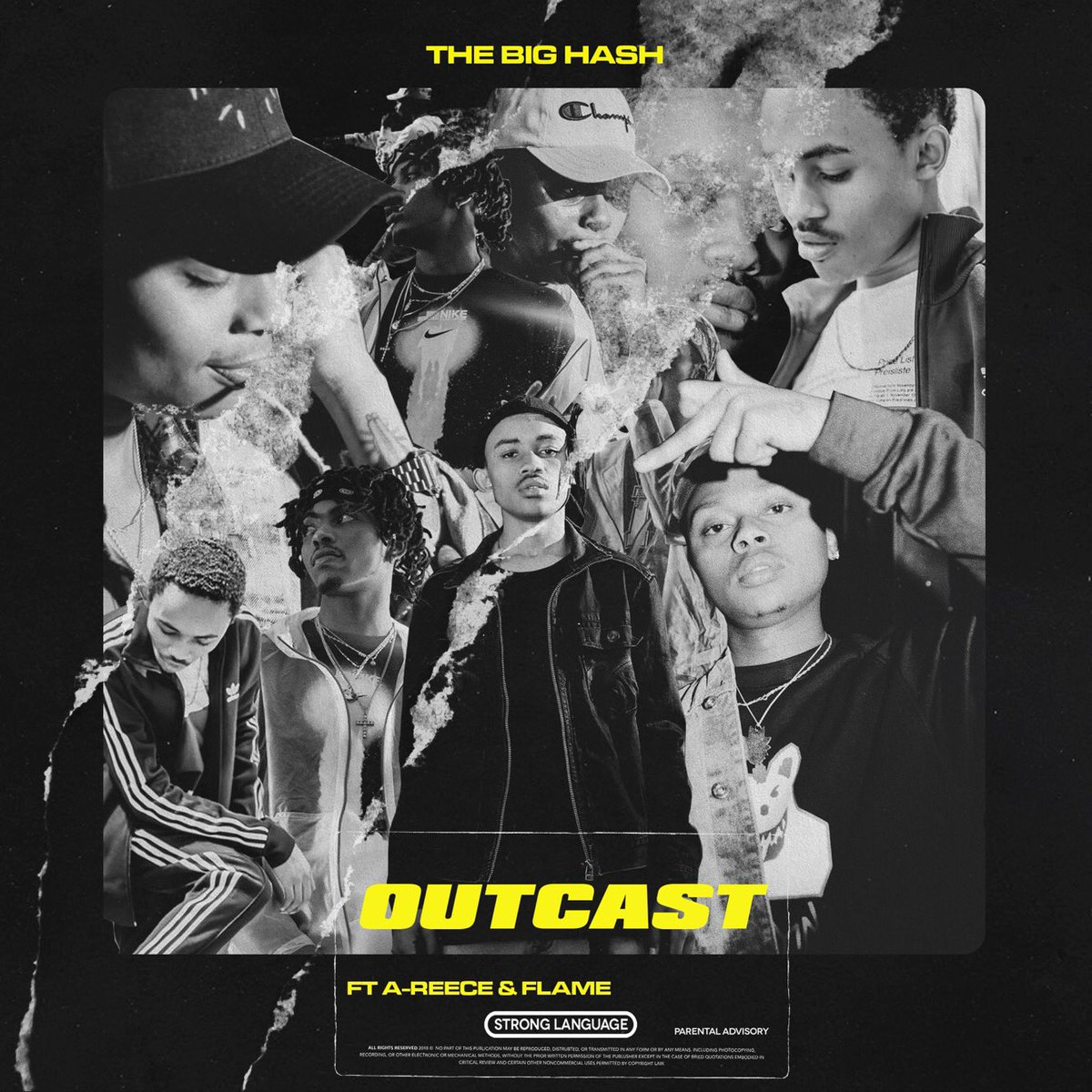 the big hash Get Ready For New Big Hash x A-Reece x Flame 'Outcast' Joint Dt0 4SrXQAA7ofc