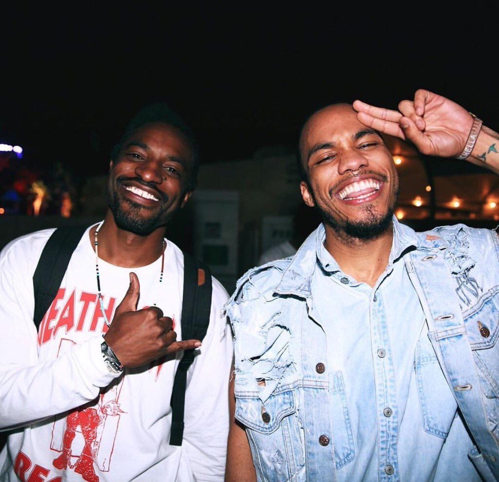 anderson .paak Anderson .Paak & Andre 3000 Linked Up In The Studio 5abb286a26532c21ad0a1343b2b6de33