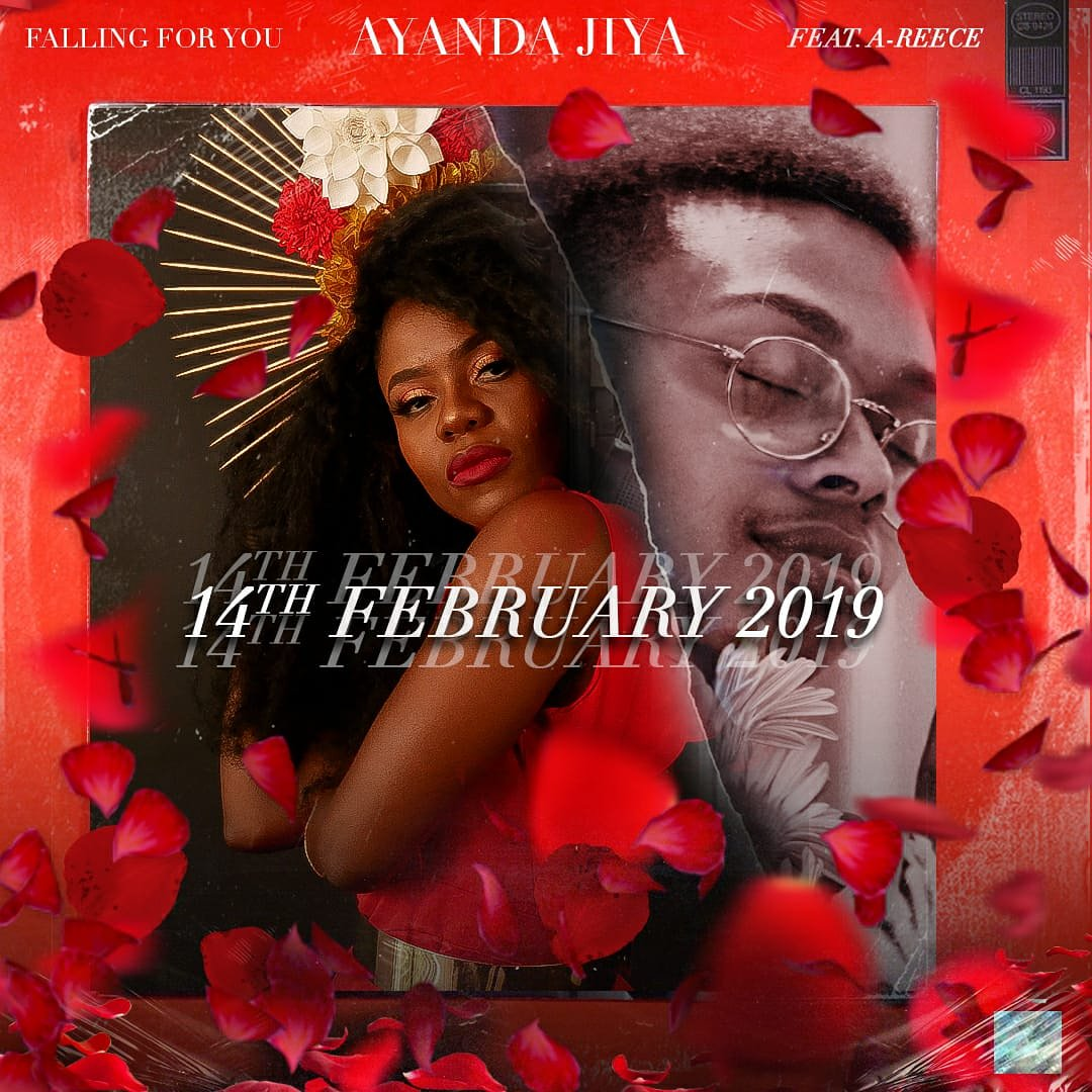 ayanda jiya New Ayanda Jiya x A-Reece 'Falling For You' Ready For Valentines Drop Dx UNyX0AESot2