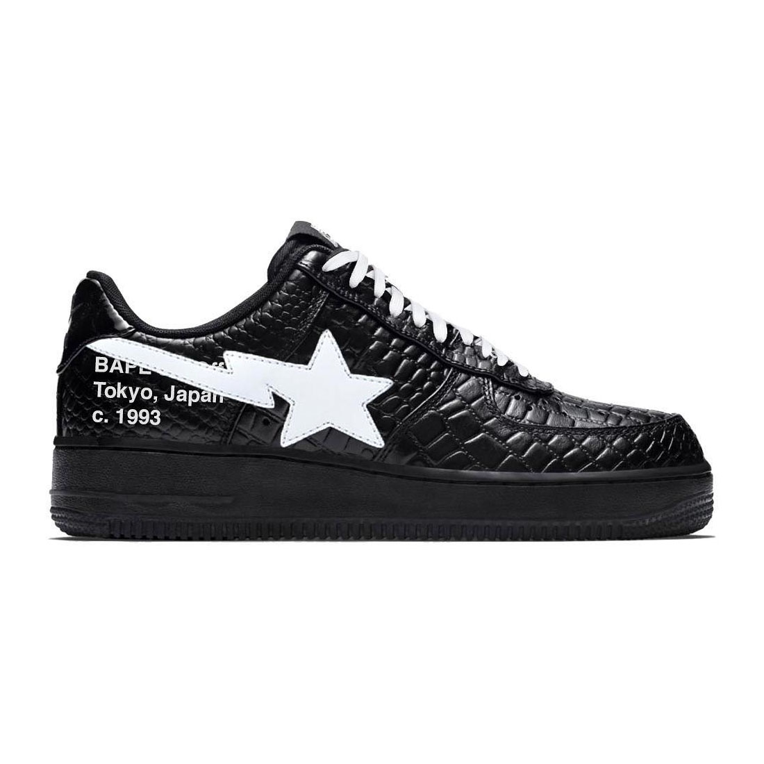 off-white™ New Off-White™ x BAPE Sneaker Mock