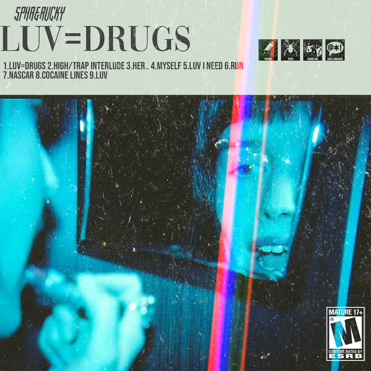 spha & rvcky Listen To This Compelling 'LUV=DRUGS' EP By SPHA & RVCKY DyQohBZWkAIlnaW
