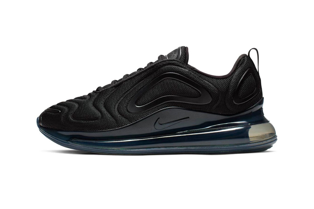 New Nike Air Max 720 'Triple Black' & 'Metallic-White' Colorways https   hypebeast