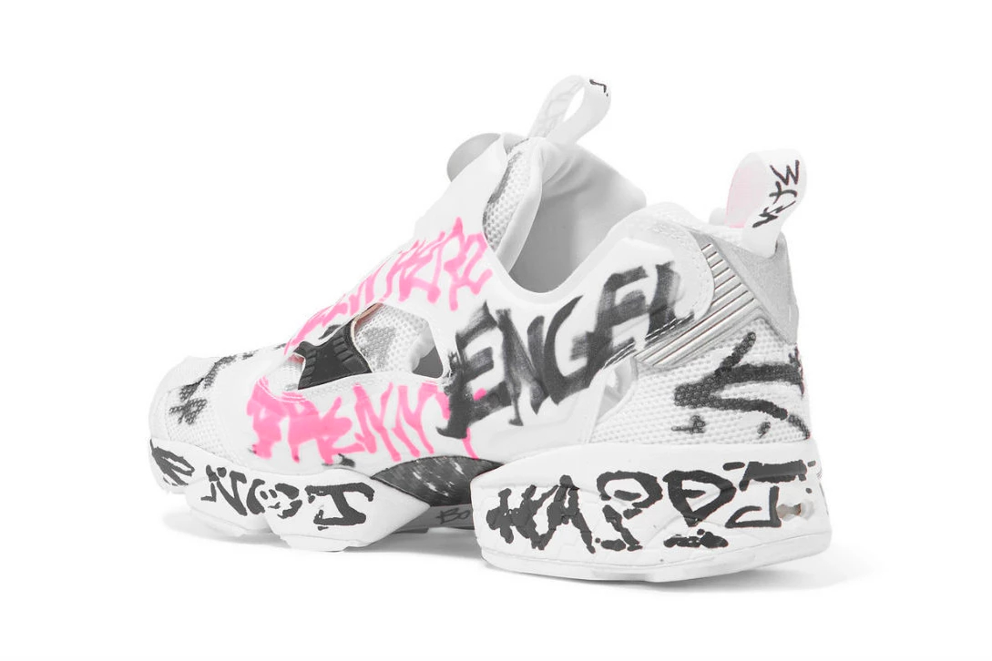 reebok New Vetements x Reebok Scribbled Instapump Furys https   hypebeast