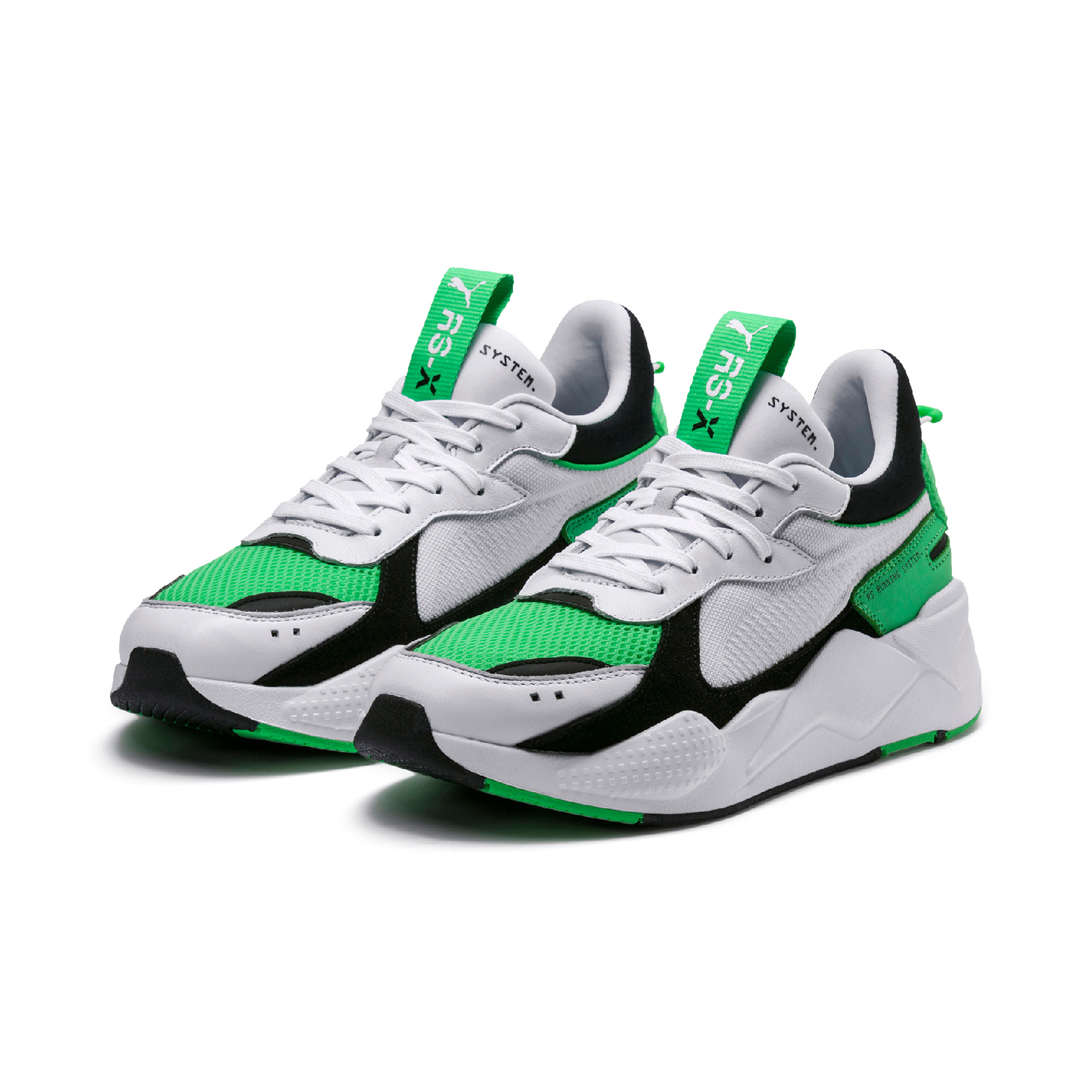 puma rs-x reinvention PUMA RS-X Reinvention Drop In Green & White 36957905 PUMA RS X Reinvention