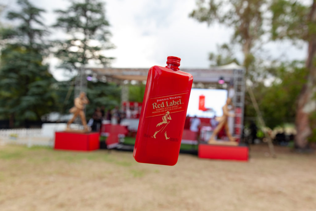 johnnie walker Johnnie Walker Setting Trends With They're New Pocket-Sized Scotch! JW Booth Fest 4865 1024x683