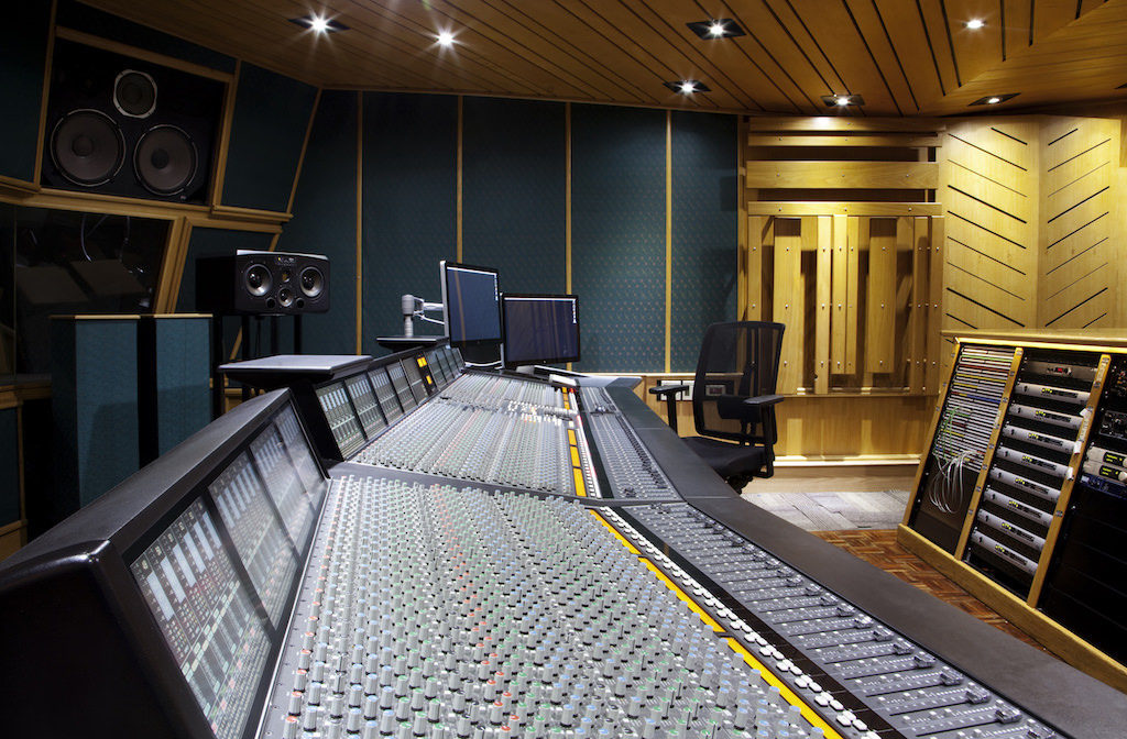 Downtown Studios Celebrates 40 Years Of Contributing To The Music Industry Studio 1 SSL Angle 1024x672