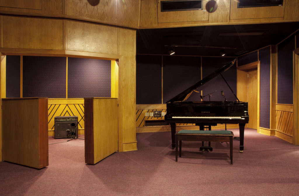 Downtown Studios Celebrates 40 Years Of Contributing To The Music Industry Studio 2 Tracking Space 1024x672